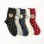 S545**พร้อมส่ง** (ปลีก+ส่ง) ถุงเท้าแฟชั่นเกาหลี ข้อยาว แต่งลายขนหนู เนื้อดี งานนำเข้า(Made in china) thumbnail 1