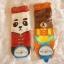 ถุงเท้าเกาหลีการ์ตูนลายแพนด้าน้อยและหมีใหญ่ [ขนาดเท้า35-42] thumbnail 3