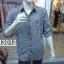 เสื้อเชิ้ตแขนยาวชาย ลายสก้อต ผ้า cotton100% thumbnail 1