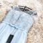 ชุดราตรียาว สีเทา ใส่ออกงานสุดหรู ตัวเสื้อเป็นผ้าโปร่ง 2 ชั้นเดินดิ้นเป็นลายเส้น thumbnail 8