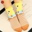 S027**พร้อมส่ง** (ปลีก+ส่ง)ถุงเท้าแฟชั่นเกาหลี ลายหมี ข้อสูง มีหู มี 5 สี (ดำ น้ำเงิน แดง เหลือง ม่วง)เนื้อดี งานนำเข้า ( Made in China) thumbnail 4