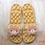 K020-ฺฺBR2**พร้อมส่ง** (ปลีก+ส่ง) รองเท้านวดสปา เพื่อสุขภาพ ปุ่มใหญ่สลับเล็ก (การ์ตูน) สีน้ำตาล ลายหมีคุมะ thumbnail 2