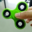 handspinner ของเล่นคลายเครียด ราคาถูก สีเขียวอ่อน
