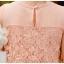 ชุดเดรส Brand YOCO นำเข้าของแท้ 100% ชุดเดรสผ้าชีฟอง+ลูกไม้อย่างดี สีชมพูหวานๆ น่ารักมากๆ (พร้อมส่ง) thumbnail 7