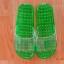K012-GR**พร้อมส่ง** (ปลีก+ส่ง) รองเท้านวดสปา เพื่อสุขภาพ ปุ่มเล็ก (ใส) สีเขียว ส่งคู่ละ 80 บ. thumbnail 2