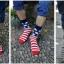 ถุงเท้าเกาหลีลายธงชาติ thumbnail 1