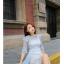 แฟชั่นเกาหลี set ชุดเดรสยาว + ชุดเดรสสั้น ดีไซน์สวยมากๆ thumbnail 10