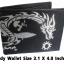 กระเป๋าสตางค์ปลากระเบน ลายมังกรขาวสงบเรียบร้อย Line id : 0853457150 thumbnail 1