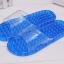 K021-BL**พร้อมส่ง** (ปลีก+ส่ง) รองเท้านวดสปา เพื่อสุขภาพ สีน้ำเงิน ปุ่มเล็ก(ใส)แบบนิ่ม ส่งคู่ละ 120 บ. thumbnail 1
