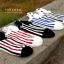 S566 **พร้อมส่ง** (ปลีก+ส่ง) ถุงเท้าแฟชั่น ข้อตาตุ่ม คละ5 สี มี 10 คู่ต่อแพ็ค เนื้อดี งานนำเข้า thumbnail 2