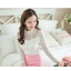 เสื้อผ้าลูกไม้ สีขาว แขนยาว สวยมากๆ ช่วงไหล่เป็นผ้ามุ้งซีทรู thumbnail 3