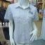 ( H 1188 ) เสื้อเชิ้ตหญิงแขนสั้น thumbnail 5