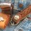 พวกกุญแจหนังวัวแท้ถัก + ซองใส่ ไฟเช็ค ( ฟรี ! ไฟเช็ค ) thumbnail 1