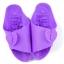 K018-PU **พร้อมส่ง** (ปลีก+ส่ง) รองเท้านวดสปา เพื่อสุขภาพ ปุ่มเล็ก แบบถอดประกอบได้ สีม่วง ส่งคู่ละ 80 บ. thumbnail 1