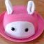 Y001-2**พร้อมส่ง** (ปลีก+ส่ง) หมวก สาน เด็ก ลายกระต่าย แฟชั่นเกาหหลี งานนำเข้า(Made in China) thumbnail 4