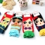 A016**พร้อมส่ง** (ปลีก+ส่ง)ถุงเท้าแฟชั่นเกาหลี ลายกระโปรง มี 4 สี (น้ำเงิน เขียวอ่อน ฟ้า เหลือง )เนื้อดี งานนำเข้า ( Made in Korea) thumbnail 3