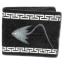 กระเป๋าสตางค์ปลากระเบน 2 มุขคู่ ชาย Line id : 0853457150 thumbnail 1
