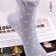 S353 **พร้อมส่ง** (ปลีก+ส่ง) ถุงเท้าแฟชั่นเกาหลี ข้อยาว คละ 5 สี มี 10 คู่/แพ็ค เนื้อดี งานนำเข้า(Made in China) thumbnail 15