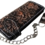 กระเป๋าสตางค์ยาวสีดำรอบขอบ-น้ำตาล พร้อมโซ่ Line id : 0853457150 thumbnail 1