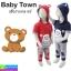 ชุด เสื้อกางเกง เด็ก Baby Town หมี ราคา 240 บาท ปกติ 720 บาท thumbnail 1