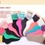 S302**พร้อมส่ง** (ปลีก+ส่ง) ถุงเท้าแฟชั่นเกาหลี ข้อยาว ลายหัวใจ คละ 5 สี เนื้อดี งานนำเข้า(Made in China) thumbnail 4