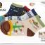 U037-9**พร้อมส่ง** (ปลีก+ส่ง) ถุงเท้า Q House แฟชั่นเด็กชาย (3-6 ปี) มีกันลื่น เนื้อดี งานนำเข้า ( Made in China) thumbnail 6