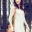 ชุดเดรสแฟชั่น ผ้าลูกไม้ สีขาว ออกครีม น่ารัก ใส่ทำงาน สามารถใส่ออกงานได้ หรือซื้อเป็นของขวัญให้แฟน สวยมากๆ ครับ (พร้อมส่ง) thumbnail 3