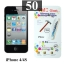 ฟิล์มกระจก iPhone 4/4s 9MC แผ่นละ 27 บาท (แพ็ค 50) thumbnail 1