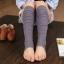 S524**พร้อมส่ง** (ปลีก+ส่ง) ถุงขา ข้อยาว แฟชั่นเกาหลี คละสี มี 12 คู่ต่อแพ็ค เนื้อดี งานนำเข้า(Made in China) thumbnail 2