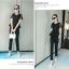 แฟชั่นเกาหลี set เสื้อ และกางเกงสีดำ ใส่ทำงานสวยเก๋ครับ thumbnail 5
