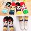 A016**พร้อมส่ง** (ปลีก+ส่ง)ถุงเท้าแฟชั่นเกาหลี ลายกระโปรง มี 4 สี (น้ำเงิน เขียวอ่อน ฟ้า เหลือง )เนื้อดี งานนำเข้า ( Made in Korea) thumbnail 1
