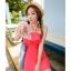 ชุดว่ายน้ำทูพีช สีแดงแตงโม สดใสน่ารักมากๆ มีกางเกงขาสั้นแยกให้ thumbnail 2