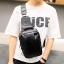 Pre-order กระเป๋าหนัง ผู้ชายคาดไหล่ Messenger bag ใส่ ipad 7.9 นิ้ว แฟขั่นเกาหลี รหัส Man-6619 สีดำ thumbnail 1