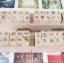 ตัวปั้ม-mini wooden DIY diary stamp