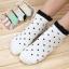 S349 **พร้อมส่ง** (ปลีก+ส่ง) ถุงเท้าแฟชั่นเกาหลี ข้อสั้น คละ 5 สี มี 12 คู่/แพ็ค เนื้อดี งานนำเข้า(Made in China) thumbnail 2
