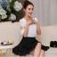เสื้อชีฟอง สีขาว แฟชั่นเกาหลีใส่สบายตัวมากๆ thumbnail 1