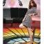 ชุดเดรส ผ้าคอตตอนผสม ลายกราฟฟิกสีตามแบบ แขนยาว ทรงตรง เข้ารูปช่วงเอว มาพร้อมเข็มขัด สีครีม thumbnail 6