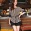 เสื้อทำงาน แฟชั่นเกาหลี เสื้อชีฟองแฟชั่น ลายตรง สีกรมท่า+น้ำตาลอ่อน ใส่เป็นชุดทำงาน สวยมากๆครับ (พร้อมส่ง) thumbnail 2