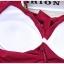 ชุดว่ายน้ำวันพีช ลายกราฟฟิก สีแดงเลือดหมู คอวี แขนกุด thumbnail 10