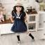 U041**พร้อมส่ง** (ปลีก+ส่ง) ถุงเท้าแฟชั่น เด็กหญิง ข้อยาว แต่งลูกไม้ เนื้อดี งานนำเข้า ( Made in China) thumbnail 3