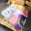 S332**พร้อมส่ง** (ปลีก+ส่ง) ถุงเท้าแฟชั่นเกาหลี ข้อสั้น เนื้อดี งานนำเข้า(Made in China) thumbnail 2