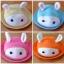 Y001-2**พร้อมส่ง** (ปลีก+ส่ง) หมวก สาน เด็ก ลายกระต่าย แฟชั่นเกาหหลี งานนำเข้า(Made in China) thumbnail 1