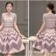 แฟชั่นเกาหลี set เสื้อ และกระโปรงสวยหรู thumbnail 4
