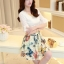 ชุดเดรสสวยๆ ตัวเสื้อผ้าชีฟอง สีขาว แขนยาวสามส่วน thumbnail 1