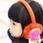 V004**พร้อมส่ง** (ปลีก+ส่ง) ที่ปิดหูกันหนาว แฟชั่นเกาหลี ด้านในมีขนนุ่มๆ กันหนาวได้ดีคะ ใส่ได้ทั้งเด็กและผู้ใหญ่ thumbnail 2