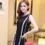 เสื้อผ้าแฟชั่น ชุดเดรสแฟชั่น สีดำ ใส่ทำงาน หรือใส่เที่ยวสวยมากๆ ครับ thaishoponline.net (พร้อมส่ง) thumbnail 4