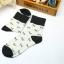 S359**พร้อมส่ง** (ปลีก+ส่ง) ถุงเท้าแฟชั่นเกาหลี ข้อยาว คละ 6 สี มี 12 คู่ต่อแพ็ค เนื้อดี งานนำเข้า(Made in China) thumbnail 16