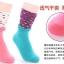 S302**พร้อมส่ง** (ปลีก+ส่ง) ถุงเท้าแฟชั่นเกาหลี ข้อยาว ลายหัวใจ คละ 5 สี เนื้อดี งานนำเข้า(Made in China) thumbnail 5