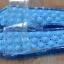 K010-BL **พร้อมส่ง** (ปลีก+ส่ง) รองเท้านวดสปา เพื่อสุขภาพ ปุ่มใหญ่ สีฟ้า ถอดพื้นทำความสะอาดได้ ส่งคู่ละ 180 บ. thumbnail 2