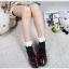 [พิเศษ 2 คู่ 100 ] ถุงเท้าพับข้อแต่งระบายน่ารักมีสีใหเลือก 5 สี thumbnail 3